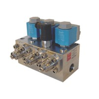180L0167 Type VDHT Solenoid Block Valve with Manual Bypass